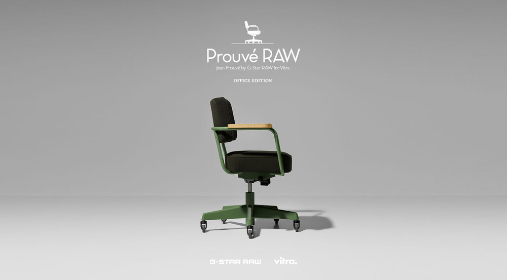 Prouve 39 raw jean prouve 39 by g star for vitra a r p for Arp arredamenti
